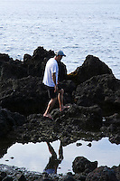 """Oshima Tidepools, Izu Islands - Izu Oshima - identified by the word Izu as many islands in Japan are known as """"Oshima"""" is known for its hot springs and beaches. Izu Oshima is also known for its camellia flowers - seen almost everywhere during January."""
