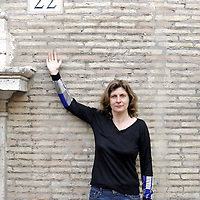 Olivia Rosenthal in Rome<br /> 8th March 2012<br /> <br /> Photograph by Rino Bianchi/Writer Pictures<br /> <br /> WORLD RIGHTS - NO ITALY