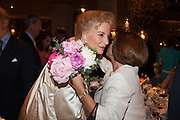 PRINCESS MICHAEL OF KENT; SARITA GAINZA The Cartier Chelsea Flower show dinner. Hurlingham club, London. 20 May 2013.