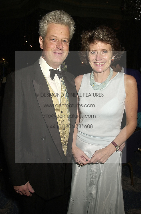 LORD & LADY KENILWORTH at a ball in London on 21st September 2000.OHF 5
