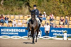 KIRCHOFF Senta (GER), L´Arbuste OLD<br /> Deutsche Meisterschaft der Dressurreiter<br /> Klaus Rheinberger Memorial<br /> Nat. Dressurprüfung Kl. S**** - Grand Prix Special<br /> Balve Optimum - Deutsche Meisterschaft Dressur 2020<br /> 19. September2020<br /> © www.sportfotos-lafrentz.de/Stefan Lafrentz