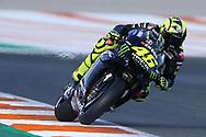 #46 Valentino Rossi, Italian: Movistar Yamaha MotoGP during the Gran Premio Motul de la Comunitat Valenciana at Circuito Ricardo Tormo Cheste, Valencia, Spain on 15 November 2019.