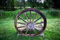 UK ENGLAND WILTSHIRE 26JUN08 - Bench made from an old cart wheel by the river Kennet near Ramsbury in rural Wiltshire, western England...jre/Photo by Jiri Rezac / WWF UK..© Jiri Rezac 2008..Contact: +44 (0) 7050 110 417.Mobile:  +44 (0) 7801 337 683.Office:  +44 (0) 20 8968 9635..Email:   jiri@jirirezac.com.Web:     www.jirirezac.com..© All images Jiri Rezac 2008 - All rights reserved.