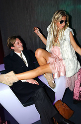 MR JAMIE ALLSOPP and SOPHIA ACKROYD at a party hosted by Panerai and the Baglioni Hotel, 60 Hyde Park Gate, London on 6th December 2004.<br /><br />NON EXCLUSIVE - WORLD RIGHTS