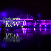 Christmas at Kew, London, UK
