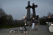 POZNAN, POLAND - 03/11/2008 - TRAVEL, Poznan streetscene..© Christophe VANDER EECKEN