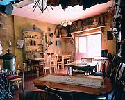 Interior Jewish themed Cafe bar Kazimierz.