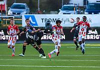FotballTippeliga 2016Tromsø IL - Brann01.05.16<br /> Sofiane Moussa, Tromsø<br /> Christian Landu Landu, Tromsø<br /> Vadim Demidov, Brann<br /> <br /> NBNB!! IKKE FOR NORDLYS<br /> <br /> Foto: Tom Benjaminsen / Digitalsport