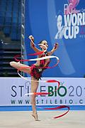 Veronica Bertolini was born in Sondrio October 19, 1995, she is an individual gymnast of the Italian team. She is five times the Italian rhythmic gymnastics champion until 2017