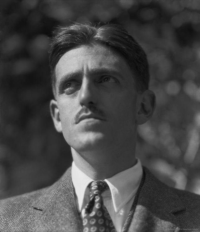 Sidney Howard, American Playwright and Screenwriter, 1923