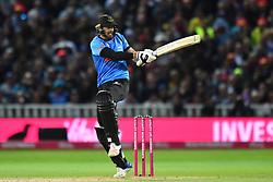 Sussex Sharks' David Wiese bats during the Vitality T20 Blast Final on Finals Day at Edgbaston, Birmingham.