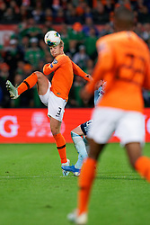 10-10-2019 NED: Netherlands - Northern Ireland, Rotterdam<br /> UEFA Qualifying round Group C match between Netherlands and Northern Ireland at De Kuip in Rotterdam / Matthijs de Ligt #3 of the Netherlands