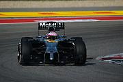 November 2, 2014: United States Grand Prix. Jenson Button (GBR), McLaren-Mercedes