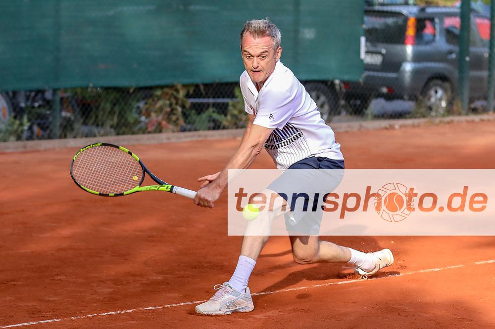 Olaf Stobbe (Fachvereinigung Tennis e.V.), Grunewald Open 2018 - Senioren, Finals, Berlin, 16.09.2018, Foto: Claudio Gärtner