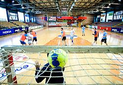Sebastjan Skube at practice of Slovenian Handball Men National Team, on June 4, 2009, in Arena Kodeljevo, Ljubljana, Slovenia. (Photo by Vid Ponikvar / Sportida)
