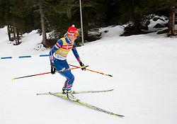 Athletes during training day prior to the IBU Biathlon World cup at Pokljuka, on December 16, 2014 in Rudno polje, Pokljuka, Slovenia. Photo by Vid Ponikvar / Sportida