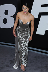 April 8, 2017 - New York, NY, USA - April 8, 2017  New York City..Michelle Rodriguez attending 'The Fate Of The Furious' New York premiere at Radio City Music Hall on April 8, 2017 in New York City. (Credit Image: © Kristin Callahan/Ace Pictures via ZUMA Press)