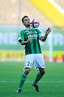 FOOTBALL - FRENCH CHAMPIONSHIP 2011/2012 - L1 - AS SAINT ETIENNE v AS NANCY LORRAINE - 13/08/2011 - PHOTO JEAN MARIE HERVIO / DPPI - LOIC PERRIN (ASSE)