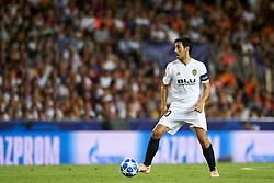 September 19, 2018 - Valencia, Spain - Daniel Parejo during the Group H match of the UEFA Champions League between Valencia CF and Juventus at Mestalla Stadium on September 19, 2018 in Valencia, Spain. (Credit Image: © Jose Breton/NurPhoto/ZUMA Press)