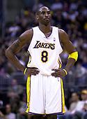 NBA-Houston Rockets at Los Angeles Lakers-Dec 25, 2003
