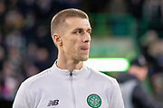 Jozo Simunovic of Celtic FC during the Europa League match between Celtic and FC Copenhagen at Celtic Park, Glasgow, Scotland on 27 February 2020.