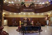 Vietnam, Hue, Interior of the Imperial Hotel Reception