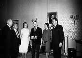 1966 Conquer Cancer Campaign officials received by President