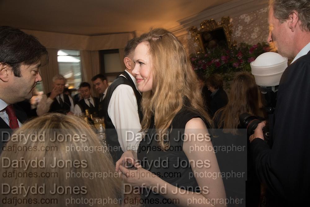 DAISY DUNN, The inaugural Cliveden Literary Festival announcement. Cadogan Gardens. London. 15 May 2017