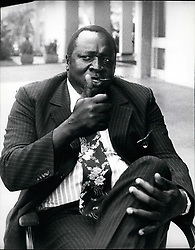 Feb. 02, 1978 - Amin Uganda: Field Marshal Idi Amin Dada, Life President of Uganda. Overthrew the previous government in military coup on 25 January 1971. Photo shows in Kampala Feb. 1978. Credits: Camerapix (Credit Image: © Keystone Press Agency/Keystone USA via ZUMAPRESS.com)
