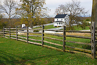 Joseph Poffenberger Farm, Antietam National Battlefield, Sharpsburg, Maryland, USA.