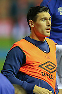 Everton midfielder Gareth Barry  during the Capital One Cup match between Middlesbrough and Everton at the Riverside Stadium, Middlesbrough, England on 1 December 2015. Photo by Simon Davies.