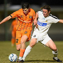BRISBANE, AUSTRALIA - AUGUST 15:  during the NPL Queensland Senior Mens Round 24 match between Eastern Suburbs FC and Sunshine Coast Wanderers at Heath Park on August 15, 2020 in Brisbane, Australia. (Photo by Patrick Kearney)