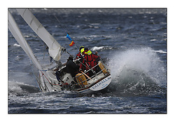 Brewin Dolphin Scottish Series 2011, Tarbert Loch Fyne - Yachting - Day 3 of the 4 day series. Windier!..GBR2496 , Valhalla of Ashton , Alan Dunnet , CCC , Swan 36..