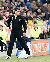 Photo: Mark Stephenson.<br />Leicester City v Queens Park Rangers. Coca Cola Championship. 17/03/2007. QPR'S manager John Gregory