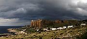 Sicily, Panoramic ladscape close to San Vito lo Capo