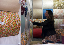 The Prim Wallpaper shop in Ghent, Belgium, on Friday, Sept. 12, 2008. (Photo © Jock Fistick)