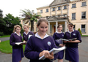 COLAISTE IDE AN DAINGEAN FEATURE:<br /> Pictured at Colaiste Ide near An Daingean in County Kerry are pupils from left, Dinah Ni Aimseir, Cara Ni Spealain, Emma NicLochlainn, Roisin Ni Ghaoithin and Claire NicInnreachtaigh.<br /> Picture by Don MacMonagle<br /> Story by Ralp Reigal