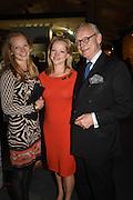 CORDELIA SELWYN GUMMER; ; LEONORA SELWYN GUMMER; LORD DEBEN; JOHN SELWYN GUMMER The preview of LAPADA Art and Antiques Fair. Berkeley Sq. London. 21 September 2015.