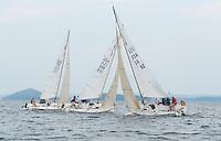Winnipesaukee Yacht Club's J80 race on Thursday evening.   (Karen Bobotas/for the Laconia Daily Sun)