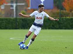 November 6, 2018 - London, England, United Kingdom - Enfield, UK. 06 November, 2018.Troy Parrott of Tottenham Hotspur.during UEFA Youth League match between Tottenham Hotspur and PSV Eindhoven at Hotspur Way, Enfield. (Credit Image: © Action Foto Sport/NurPhoto via ZUMA Press)