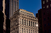 Old Building at Sunset, New York City, New York, USA, November 1997