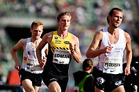 Friidrett , 15. juni 2017 ,  Diamond League , Bislett Games<br /> Ferdinand Kvan Edman , NOR 3000 m