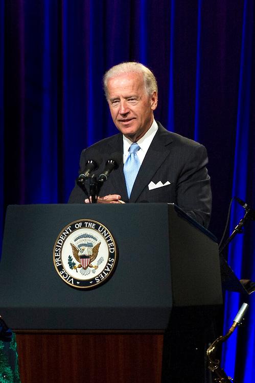 Vice-President Joe Biden at Sesame Workshop's 8th Annual Benefit Gala at Cipriani 42nd Street.