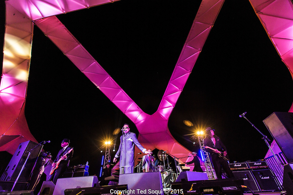 Twilight concert series on the Santa Monica Pier featuring Morris Day and the Time.