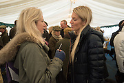 EMILY WARD; JUBIE WIGAN; , The Heythrop Hunt Point to Point. Cocklebarrow. 24 January 2016