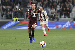 May 3, 2019 - Turin, Piedmont, Italy - Sasa Lukic (Torino FC) during the Serie A football match between Juventus FC and Torino FC at Allianz Stadium on May 03, 2019 in Turin, Italy..Final results: 1-1. (Credit Image: © Massimiliano Ferraro/NurPhoto via ZUMA Press)