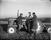 110/01/1961.01/10/1961.10 January 1961.Tractor demonstration David Brown 950 at Multyfarnham Co. Meath.