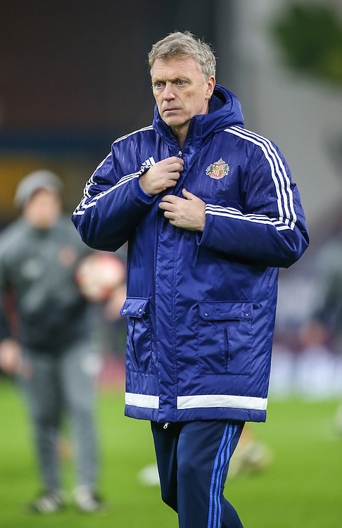 Sunderland manager David Moyes <br /> <br /> Photographer Alex Dodd/CameraSport<br /> <br /> Emirates FA Cup Third Round Replay - Burnley v Sunderland - Tuesday 17th January 2017 - Turf Moor - Burnley<br />  <br /> World Copyright © 2017 CameraSport. All rights reserved. 43 Linden Ave. Countesthorpe. Leicester. England. LE8 5PG - Tel: +44 (0) 116 277 4147 - admin@camerasport.com - www.camerasport.com