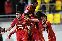 FOOTBALL - FRENCH CHAMPIONSHIP 2010/2011 - L2 - LEMANS FC v LE HAVRE AC - 18/04/2011 - PHOTO JEAN MARIE HERVIO / DPPI - JOY LE MANS