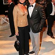 NLD/Amsterdam/20101209 - VIP avond Miljonairfair 2010, Coco de Meyere en partner Kim Tjoa
